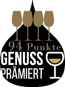 GENUSS Weinpur Trophy 4 Gläser 94 Punkte